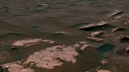 Mars Rover Samples Active Linear Dune on Mars