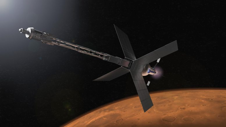 Mars Transit Habitat and Nuclear Propulsion System
