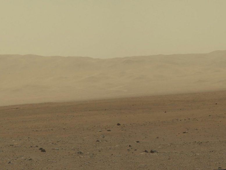 Mars Wall of Gale Crater