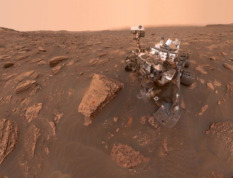 Martian Dust Storm Grows Global Curiosity Captures Photos