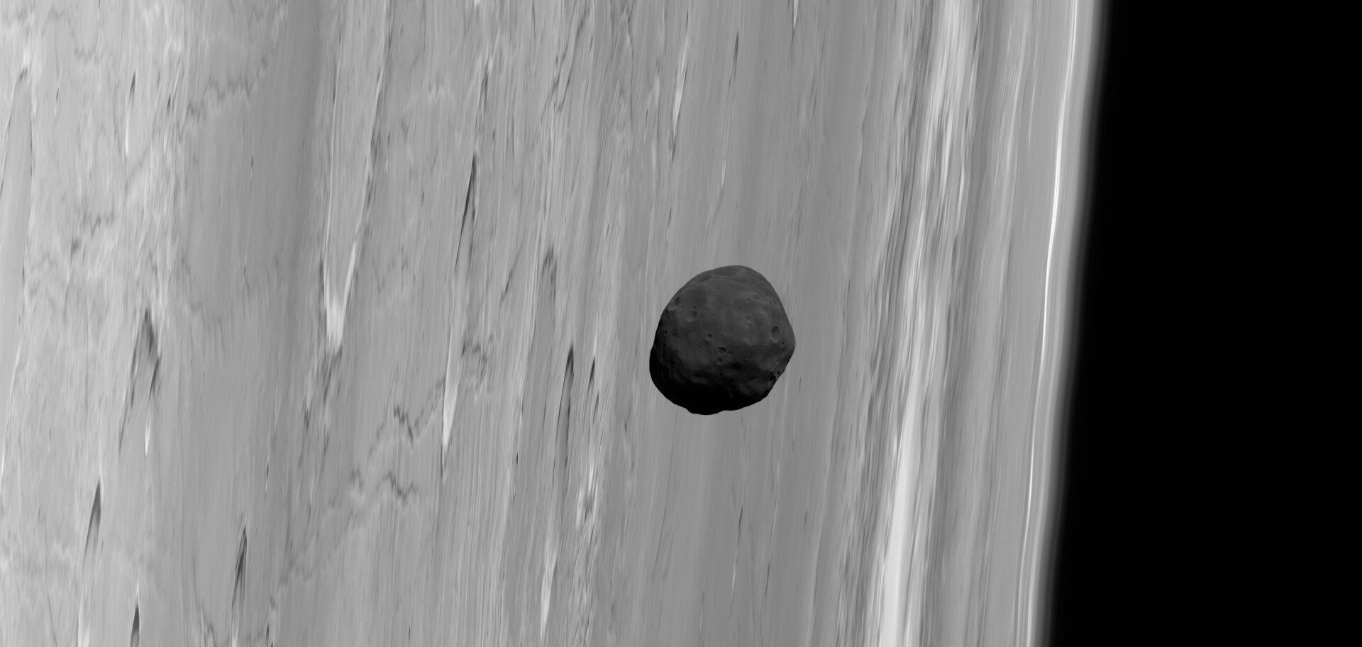 Martian Moon Phobos May Have Formed From Impact With Home Planet