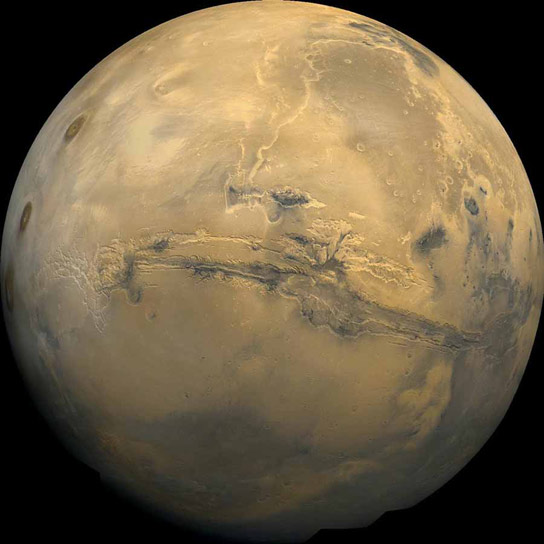 Martian Rock Reveals Climate Clues