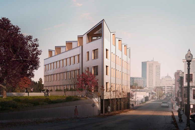 Mass Timber Building Boston Roxbury