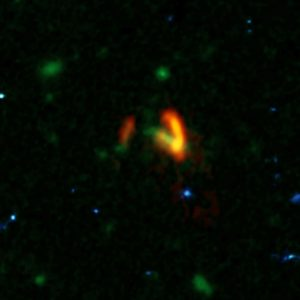 Massive Galaxies in the Early Universe SPT0311-58