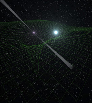 Massive Pulsar in a Compact Relativistic Binary Tests Einsteins Theory