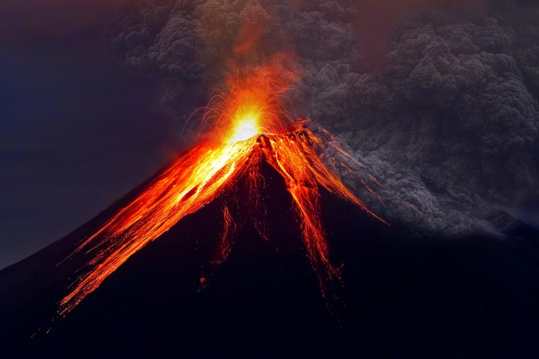 Massive Volcanic Eruption