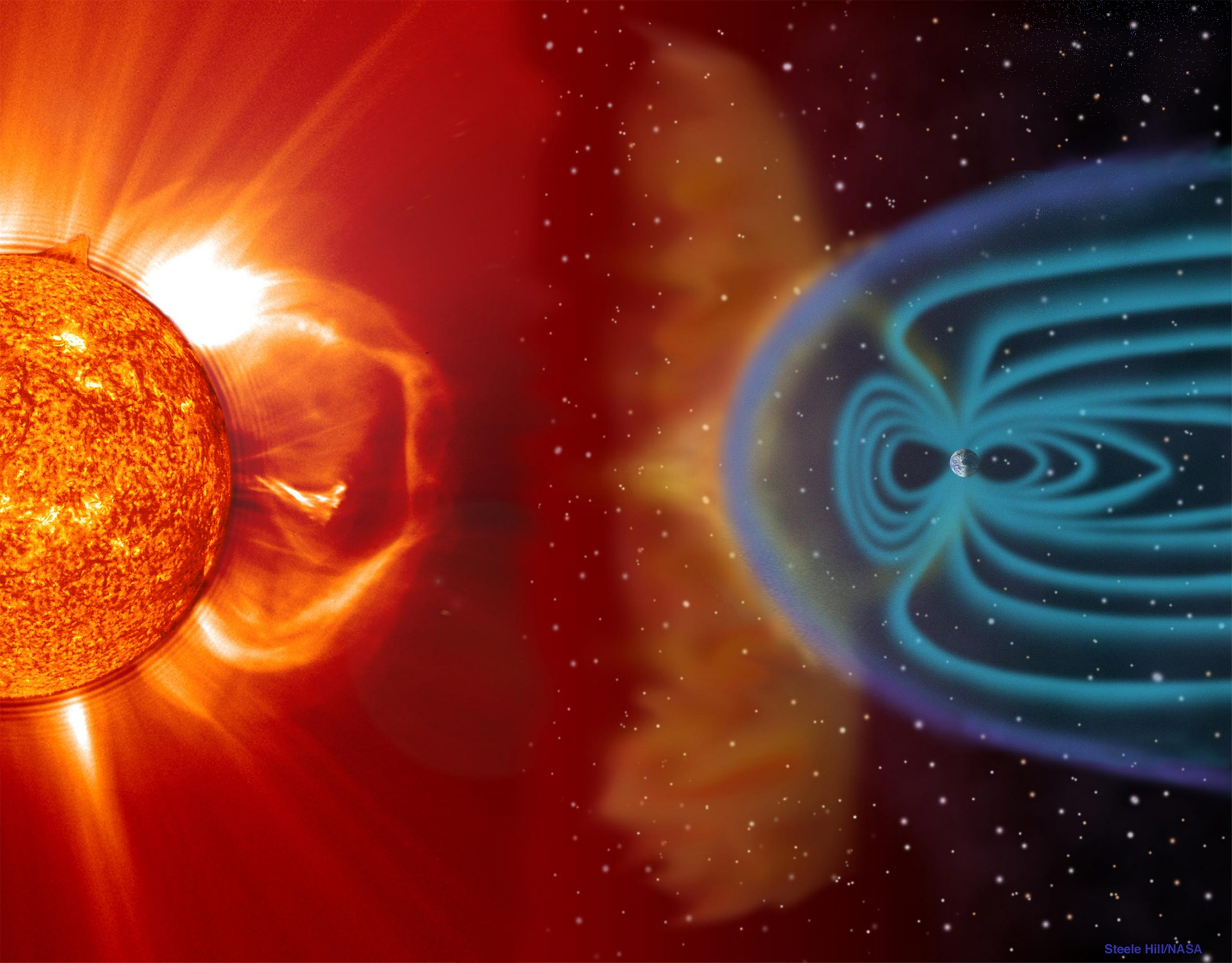 Planetary Shields Will Buckle Under Furious Stellar Winds From Their Dying Stars – Nearly Impossible for Life To Survive - SciTechDaily