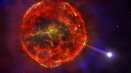 Material Ejected by Supernova