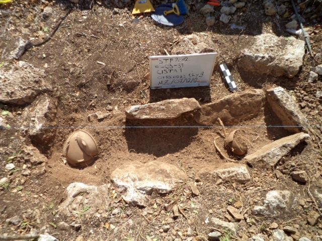 Maya Cist pohřeb