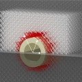 Mechanical Metamaterial CloakHides Objects from Touching