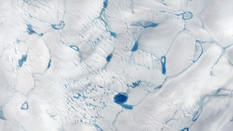 Meltwater Southwestern Greenland Ice Sheet