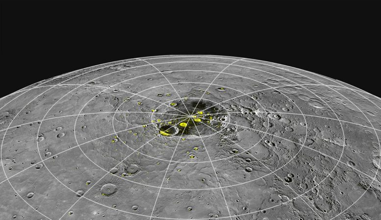 Mercury Ice at the Poles