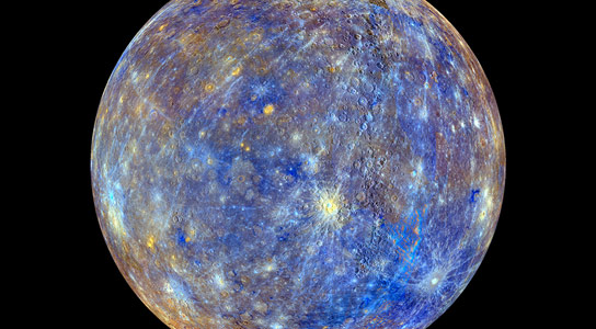 Messenger Spacecraft Reveals Mercury's Bizarre Magnetic Field