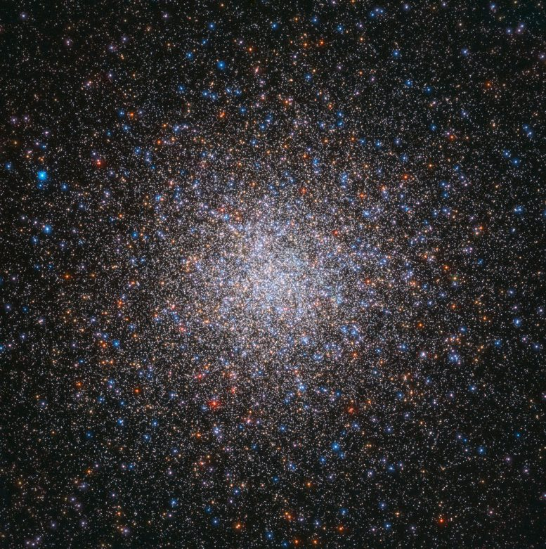 Messier 2 The Largest of Its Kind