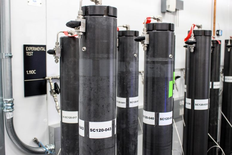 Methane Hydrate Cores