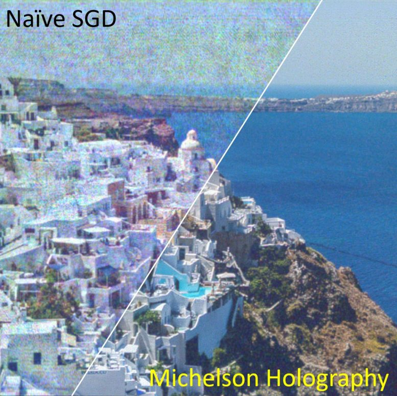 Michelson Holography Image Quality
