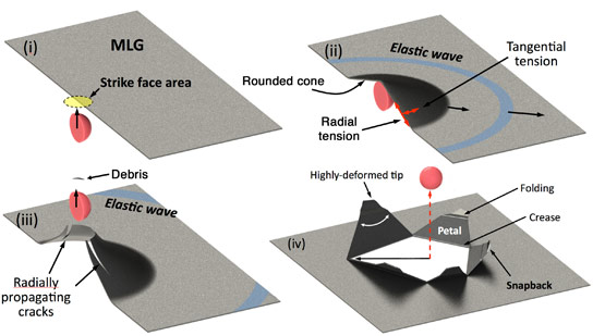 Microbullets Confirm the Strength of Graphene
