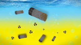 Microrobots Clean up Radioactive Waste