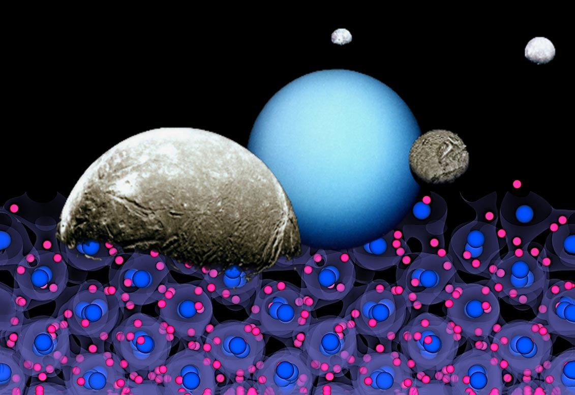 Inside the Ice Giants of Space: Scientists Reconstruct Physical Processes on a Small Scale - SciTechDaily