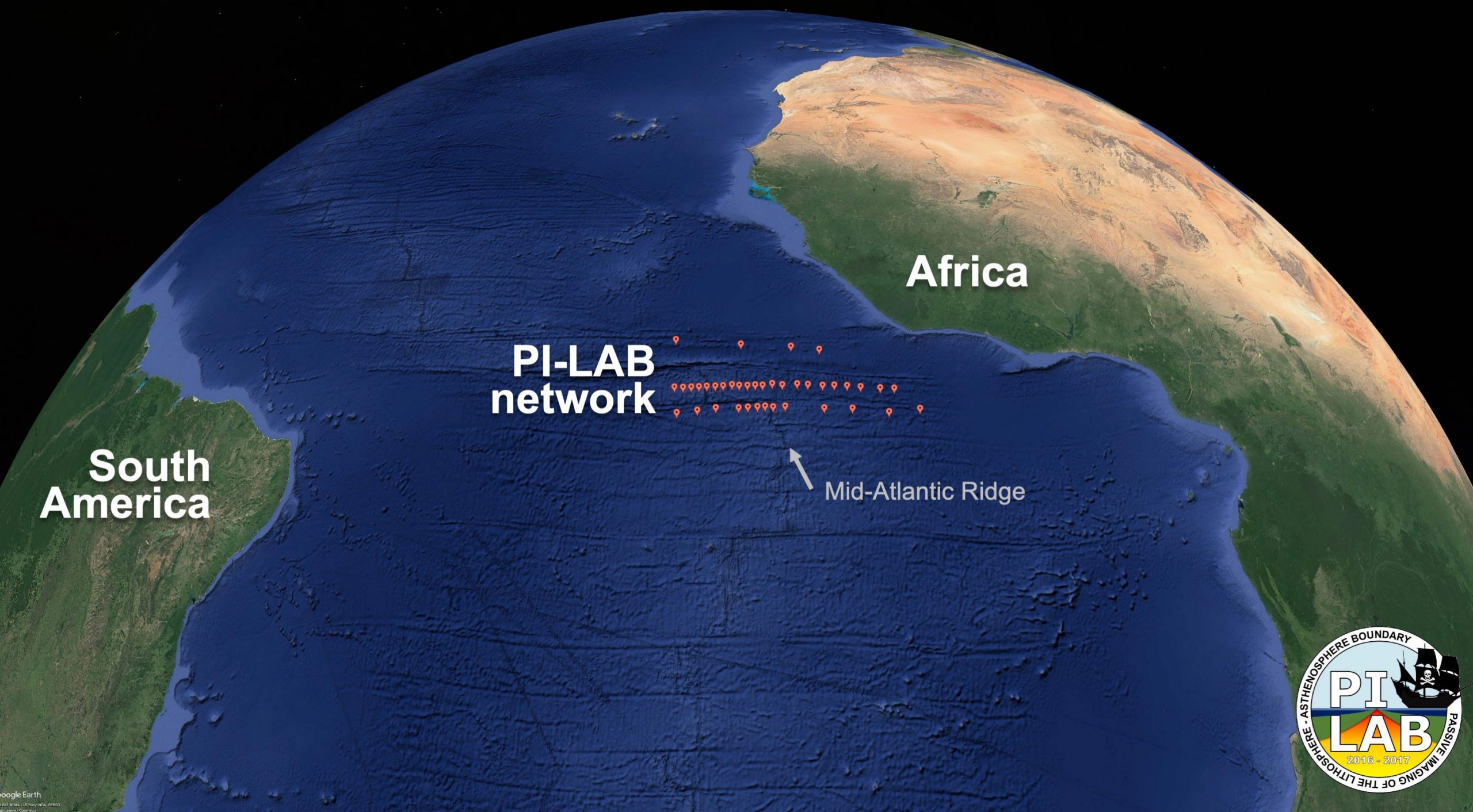 Upsurge of Matter From Deep Beneath the Earth's Crust Is Pushing North and South America Further Apart From Europe and Africa - SciTechDaily