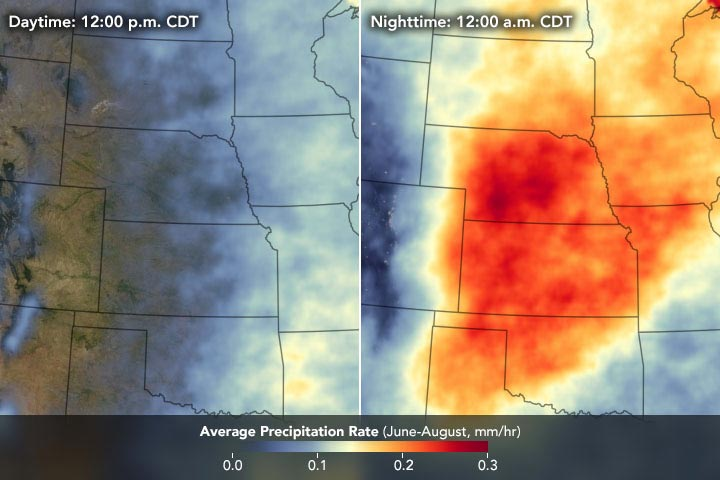 Midwest Average Precipitation Rate 2001 2018 Annotated