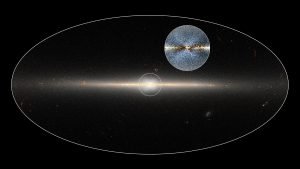 Milky Way's Central Bulge of Stars Forms an X Shape