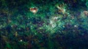 Milky Way galaxy Mosaic of Images from WISE