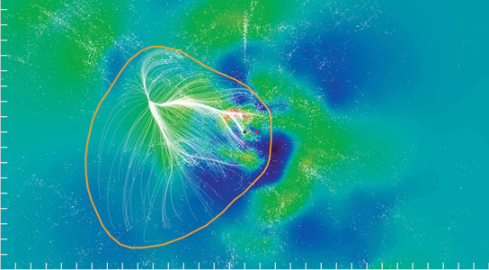 Milky Way is Part of Newly Identified Galactic Supercluster