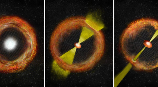 Missing-Link in the Supernova-GRB Connection