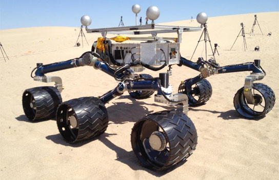 Mojave Desert Tests for NASA Mars Rover