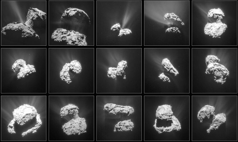 Molecular Oxygen Found Around Comet 67P