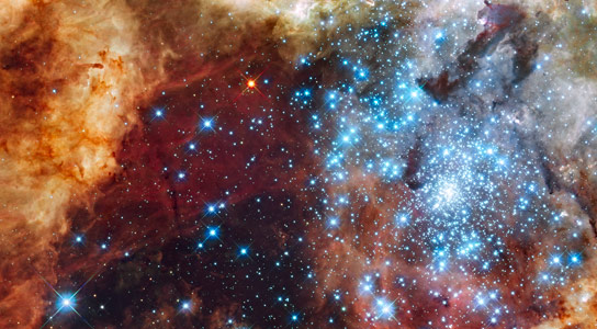 Monstrous Star Collision Wont Occur for Billions of Years