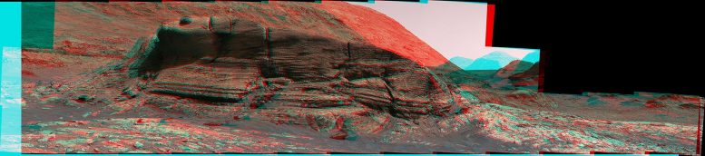 Mont Mercou Anaglyph