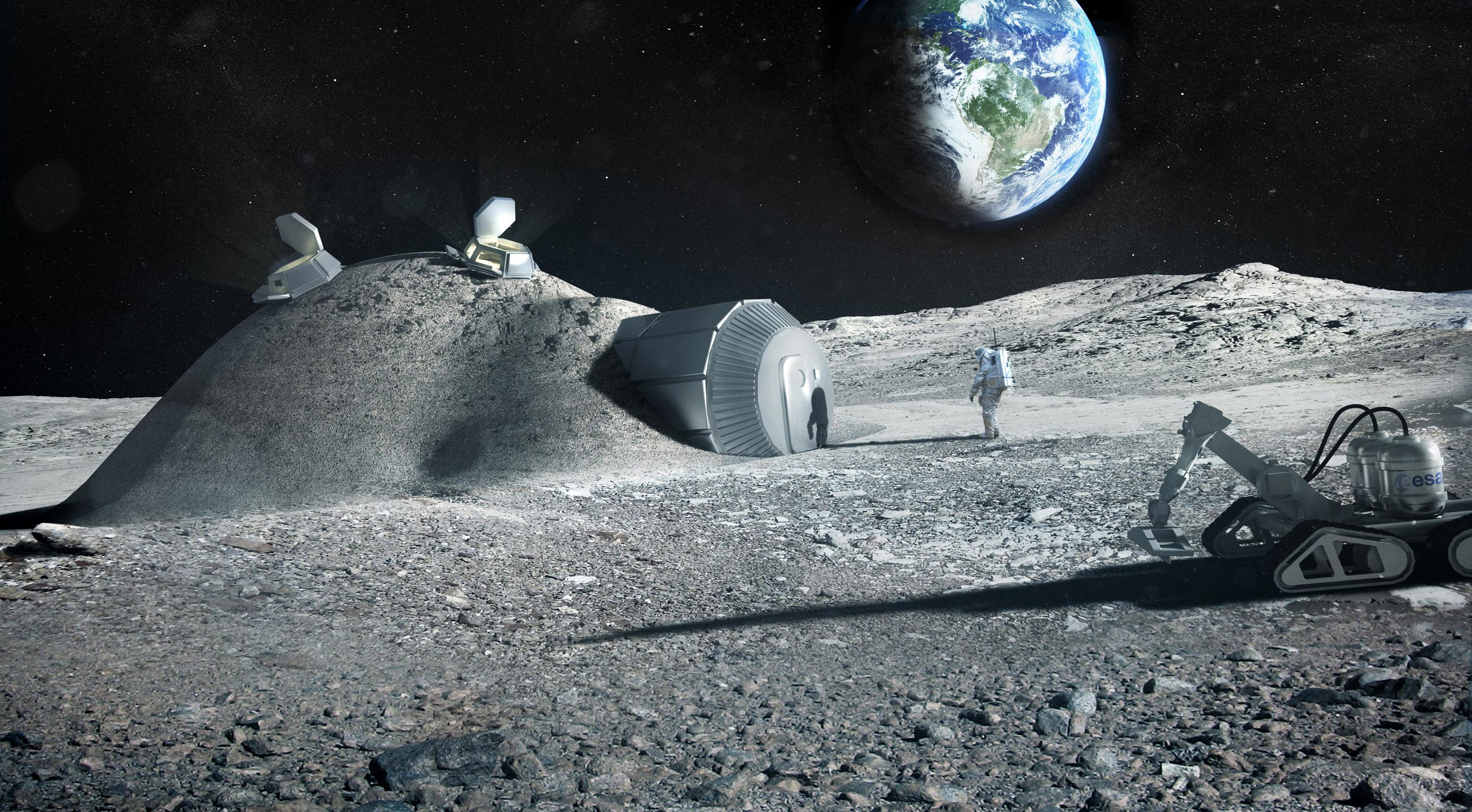 Urine, the future material to build new bases at the moon