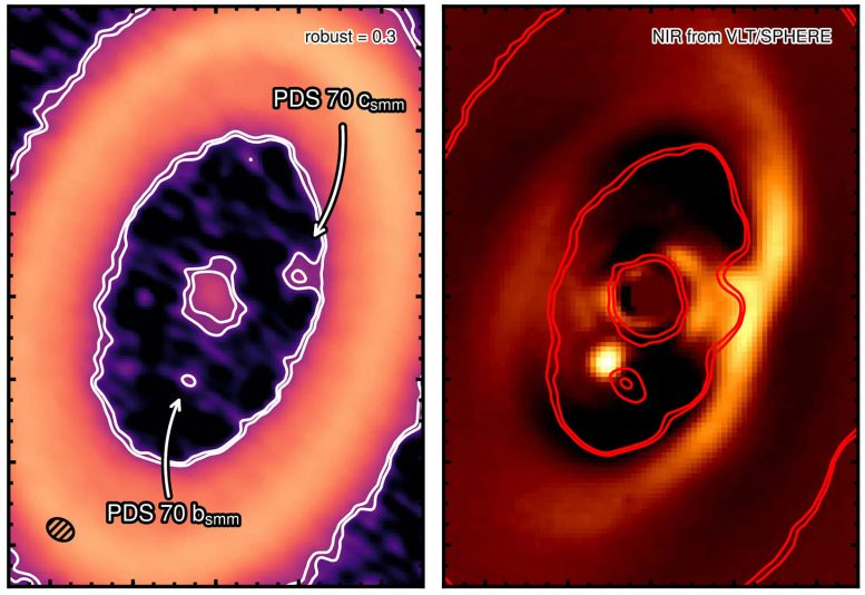 Moon Forming Disk Discovered