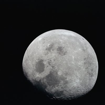 Moon From Apollo 8 Spacecraft