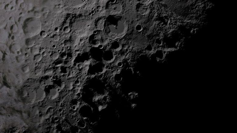 Moon South Pole