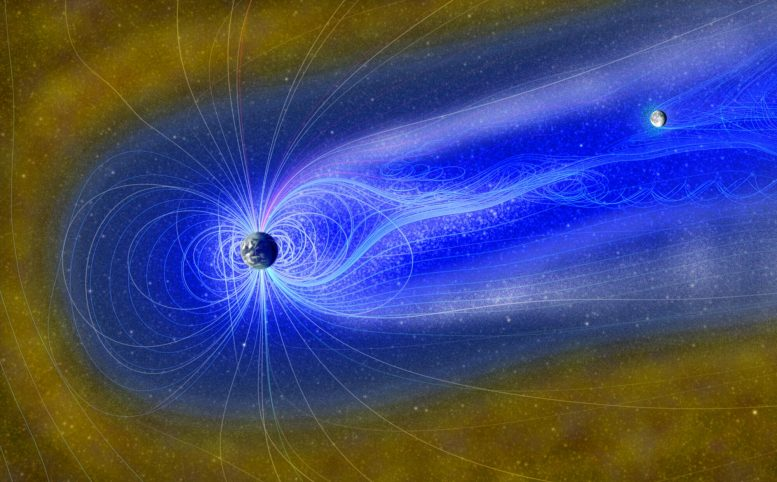 Moon in Earth's Magnetosphere