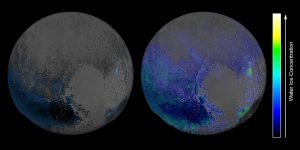 More Water Ice on Pluto's Surface Than Previously Thought