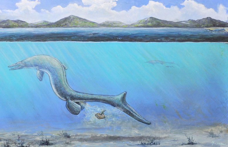 Mosasaur Hatching