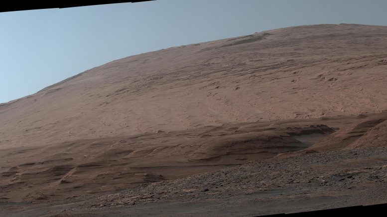 Mount Sharp Mars