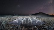 Murchison Widefield Array Radio Telescope Night