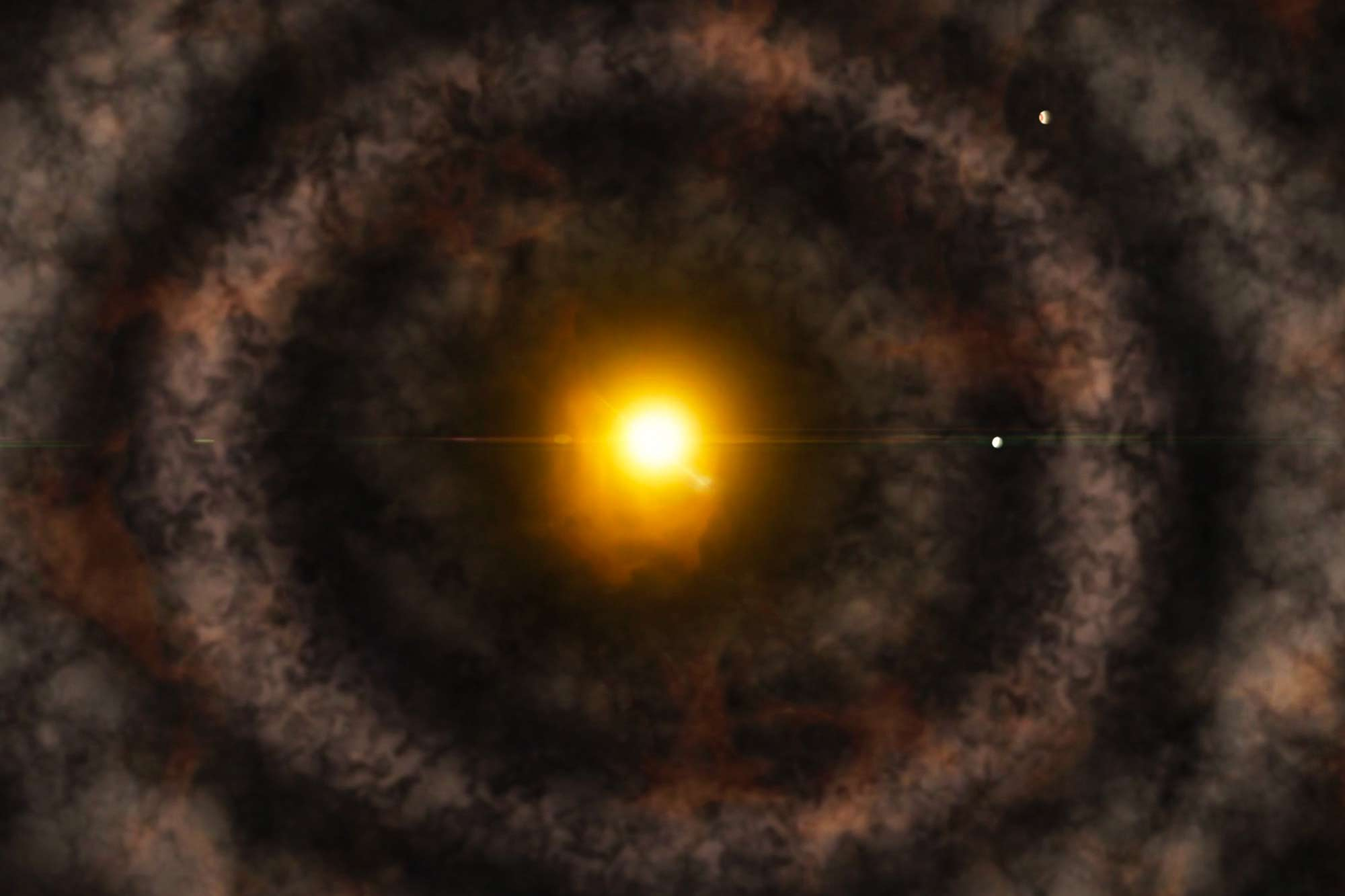 A Mysterious Gap Within the Solar System's Protoplanetary Disk – SciTechDaily