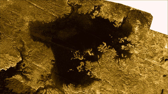 Mysterious Island Appears on Saturns Moon Titan