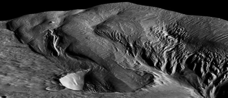 Mysterious Martian Rock Formation