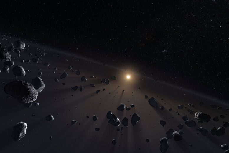 Mystery Orbits in Outermost Reaches of Solar System