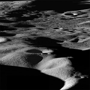 Researchers Explain Metamorphosis of Moon's Water Ice