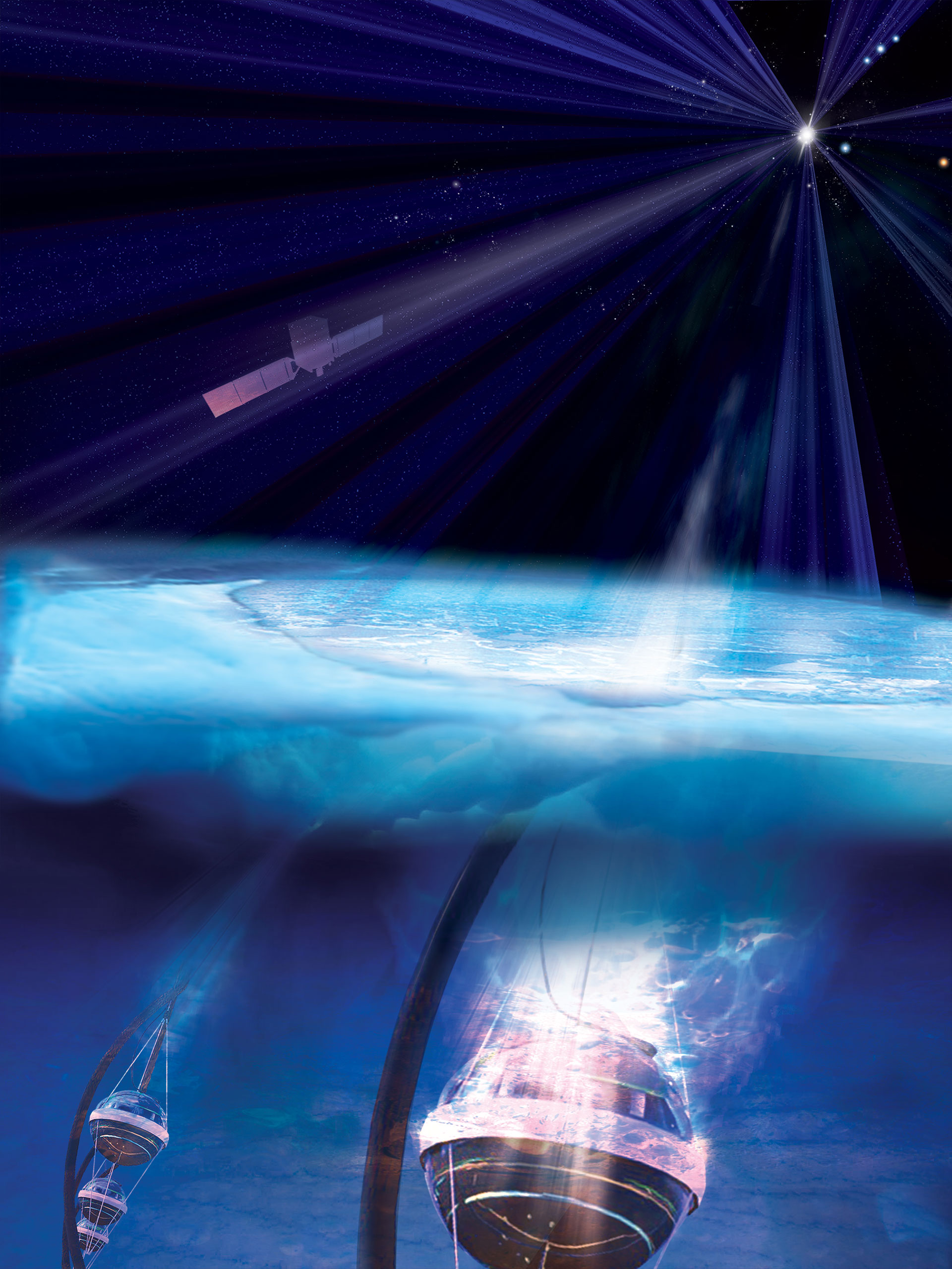 Astronomers Trace Source of Cosmic Neutrino to Monster ...Icecube Neutrino Observatory July
