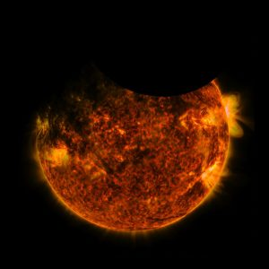 NASA's SDO Views a Double Eclipse