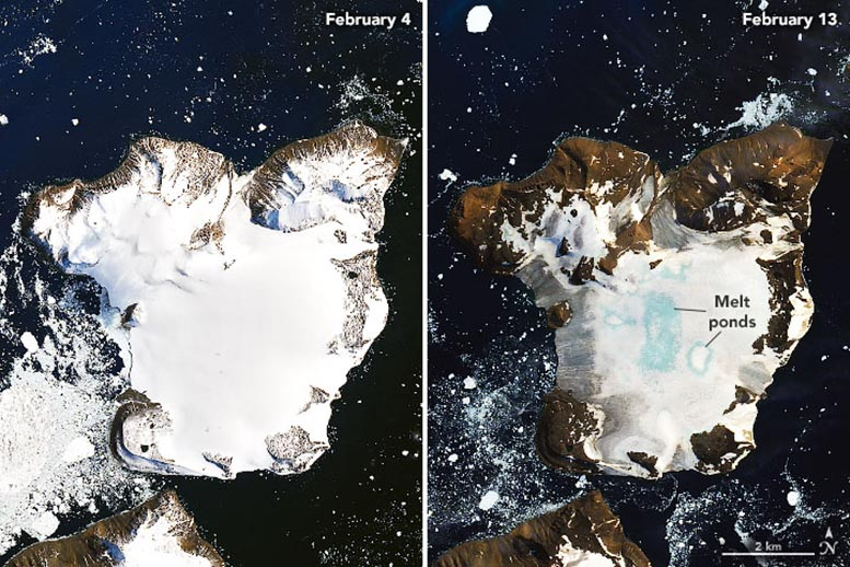 NASA Antarctica Melting